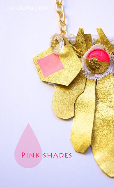 Rosa e Oro collezione Collane Artoleria