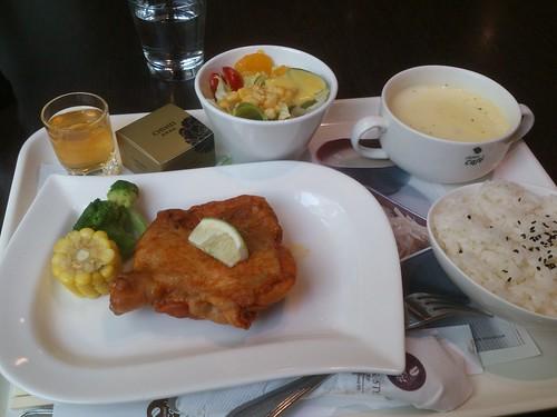 工研院的簡餐-紐西蘭香料雞排