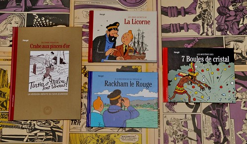 Tintin in guerra su Crepax Off-Side