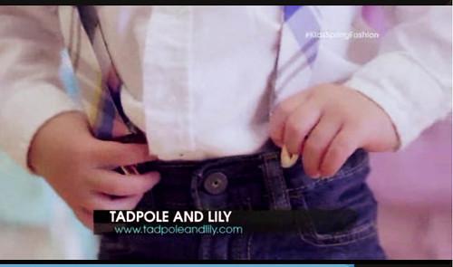 cute & little blog   kids spring fashion tv segment   hipster cool look