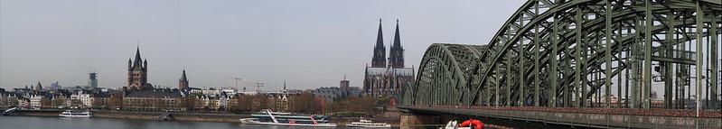 P3315149 Pano Colonia Catedral Alemania Unesco