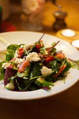 Thursday's Dinner: Mediterranean salad with b…