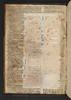 Manuscript pastedown in Biblia latina