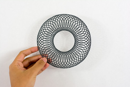 Circular Paper Cutting by Crissy Tioseco
