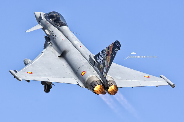 Tiger Meet 2016: 14-06 EF2000 Typhoon, 142 Escuadrón Spanish Air Force