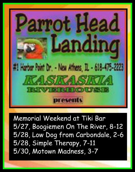 Parrot Head Landing 5-27-16