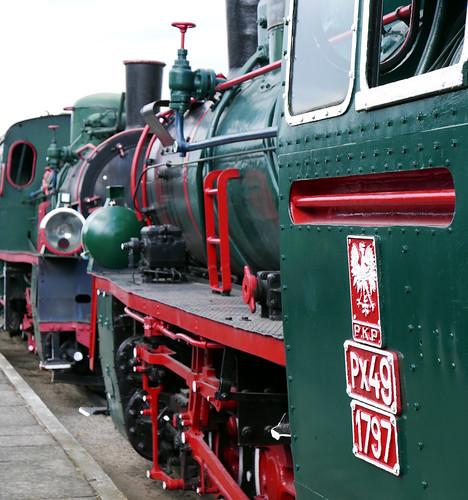 house colour green station museum train transport engine rail railway steam transportation rails gauge narrow pkp 2016 px 1797 kolejka sochaczew px49 sochaszew