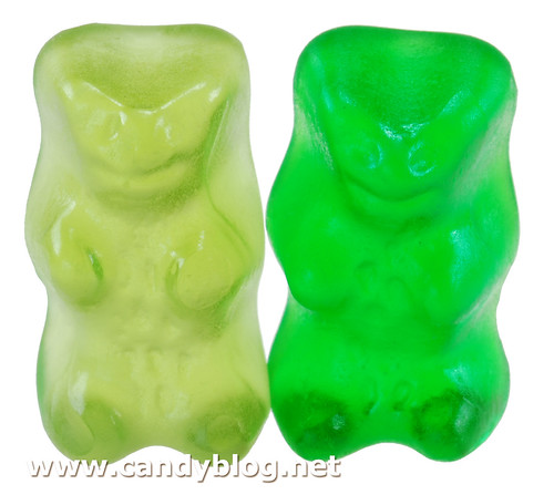 Haribo Bears: German Apfel & Turkish Strawberry