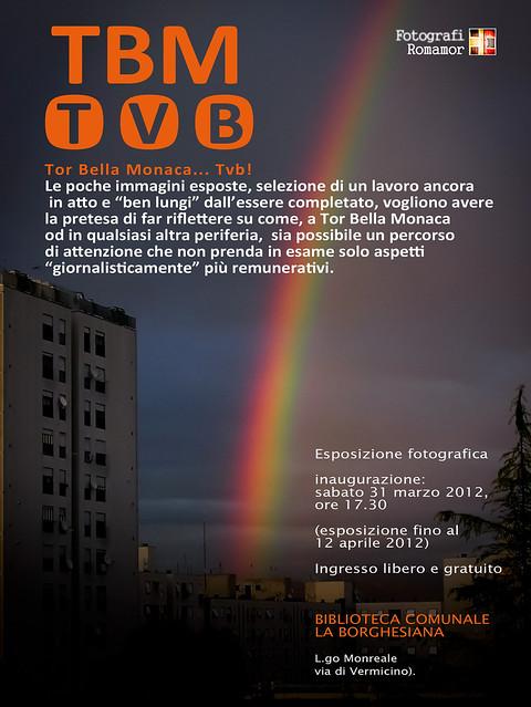 Mostra Tor Bella Monaca Ti Voglio Bene sabato 31 marzo alla Biblioteca Borghesiana
