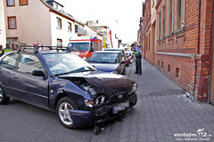 Verkehrsunfall Limesstraße 27.03.12