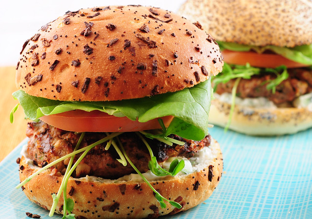 juicy lamb burgers
