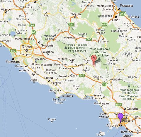 Map Alvito