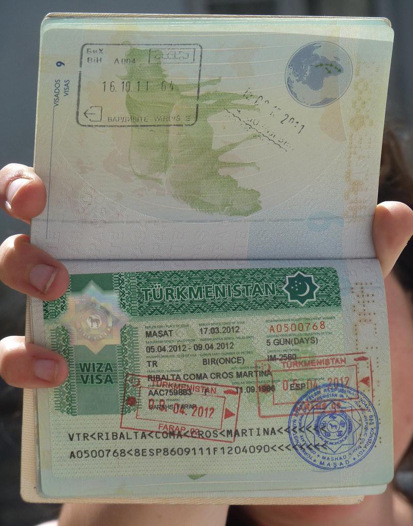 5 days transit visa (Turkmenistan)