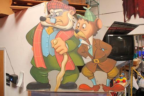 Mac Badger and Mr. Rat - Mr. Toad's Wild Ride