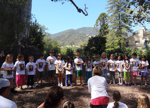 "Discoverer Class Sings ""The World is a Rainbow"""