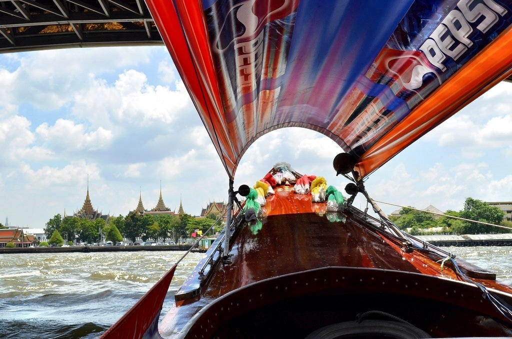 River boat on the Chao Phraya River