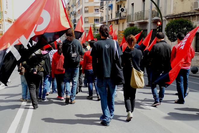 Mani 1º Mayo 2012 Jaén