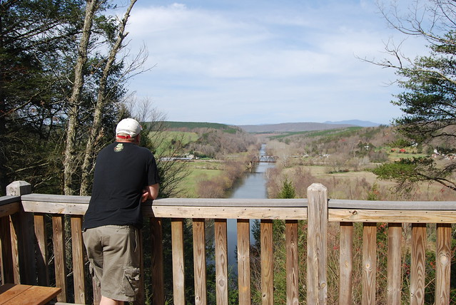 Tye River Overlook at James River State Park - learn why this river is in the history books!