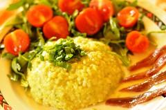 Deliciu Verde cu salata de rucola