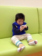 恵比寿ガーデンプレイスのベビールーム(2012/3/31)