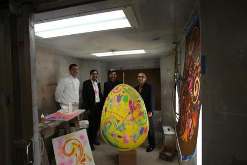 Easter egg in White House Sanjeev Kapoor