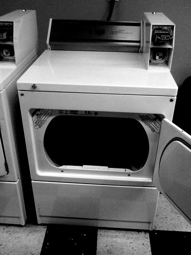 empty dryer