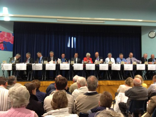 Castel Election Hustings