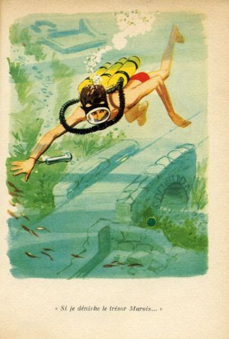 MICHEL en plongée, by Georges BAYARD -image-50-150