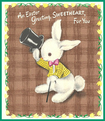 1950's Easter card