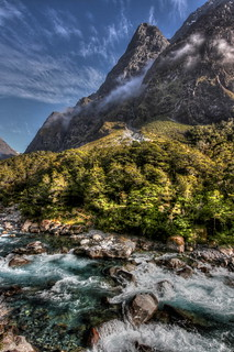 Hollyford Valley - on the way to Milford Sound