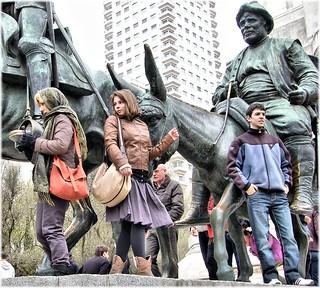 Изображение на Don Quijote y Sancho Panza. mygearandme