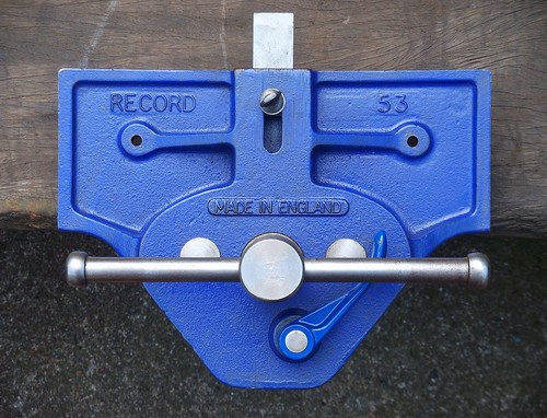 Elegant Woodworking In A Tiny Shop Record No 53E Vise Cleanup  Part 1