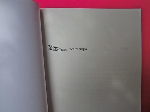 Virginia Woolf, Flush. Una biografia. A cura di Chiara Valerio; nottetempo, Roma 2012. progetto grafico di Dario e Fabio Zannier. pagina dell'occhiello (part.), 2