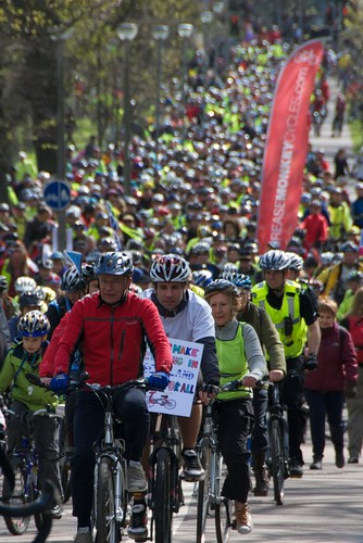 Pedal on Parliament: Just a 'wee protest' then?