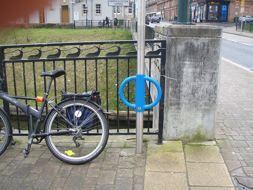 Cyclehoop cycle parking