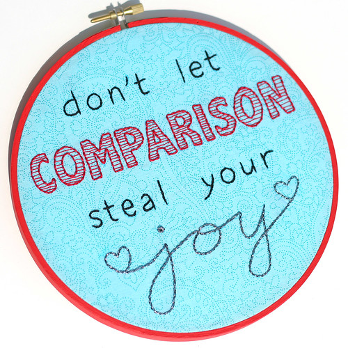 Comparison Embroidery