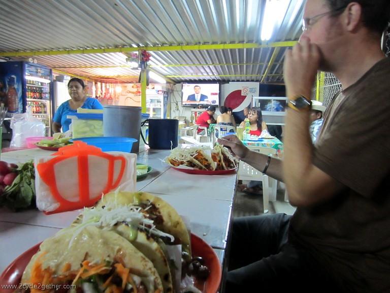 Tacos & Presidential Debate in Cuidad Constitucion