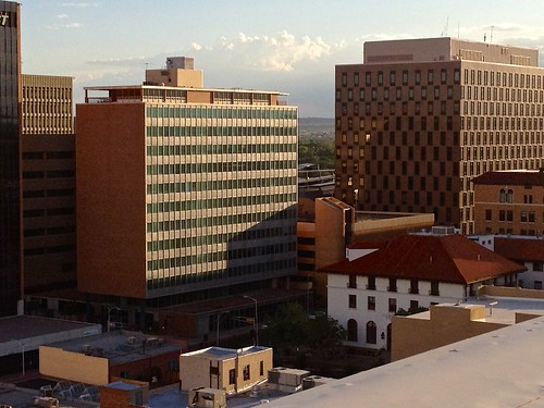 Downtown Albuquerque by G Morrow