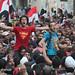 احتفال الالتراس بنجاح مرسي في شارع محمد محمود by 3mo_shehab