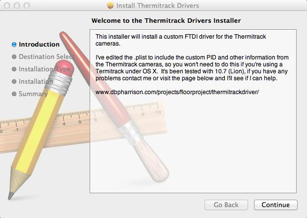 Thermitrack Installer