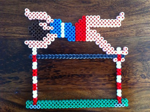 Hama bead High Jumper.