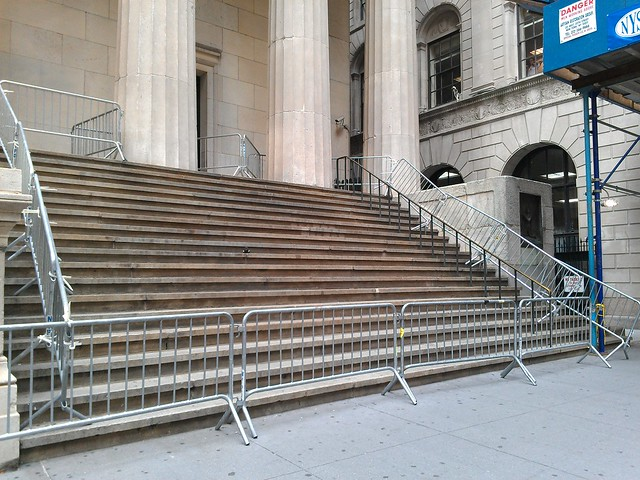 'First Amendment Area' at Federal Hall