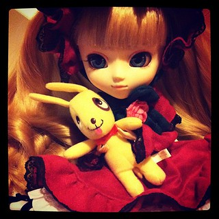 Comfy evenings with Shinku (Lily) chan