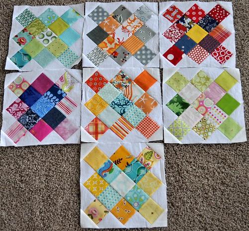 7 granny blocks