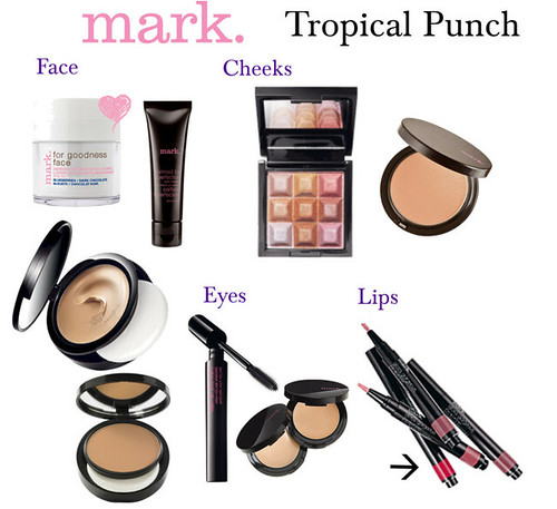 Livingaftermidnite ~ mark. Makeup Monday: Tropical Punch