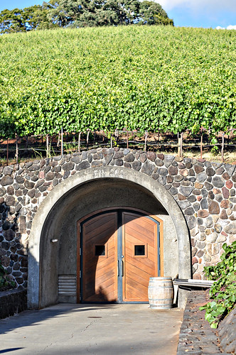 Entrance to Wine Caves at Kunde Family Estate ~ Kenwood, CA