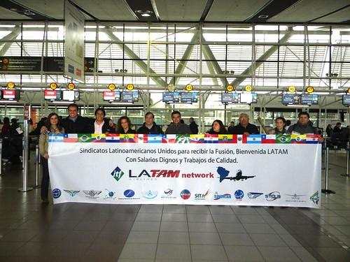 Ato do Projeto Latam - Santiago