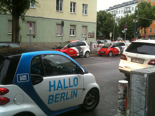 Carsharing: Car2go & Flinkster