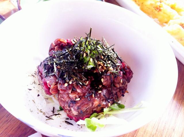 raw hanger beef