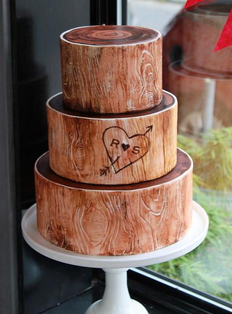 Woodsy Wedding Cake | Flickr - Photo Sharing!